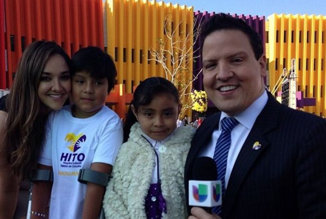 """""""Con """"Chuy"""" y """"Palomita"""" en la apertura del HITO en Querétaro. Rumbo a T..."""