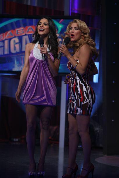 Alejandra y Rosina, dos bellezas que semana a semana puedes ver en &quot...