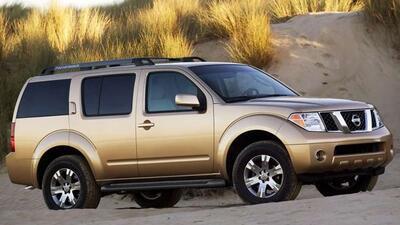 Los modelos 2003 a 2006 de la Pathfinder son parte de los vehículos con...