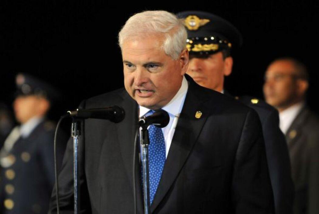 Ricardo Martinelli, exmandatario de Panamá.