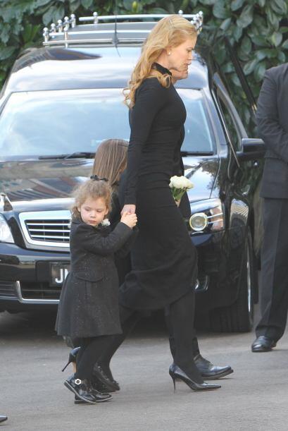 Así fue como Nicole Kidman despidió por última vez a su padre.