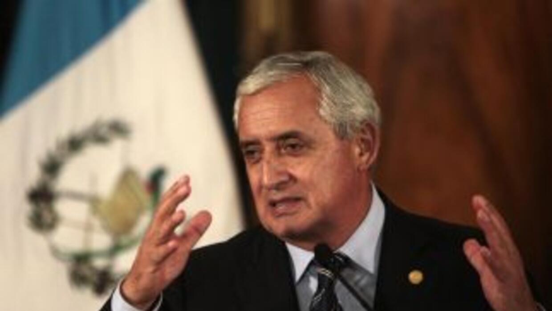 El presidente deGuatemala, Otto Pérez Molina.