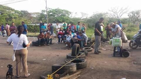 El pueblo de Tumeremo, en el estado Bolívar, paralizó toda...
