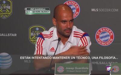 Pep Guardiola: 'EEUU pronto serán unos de los mejores en fútbol'