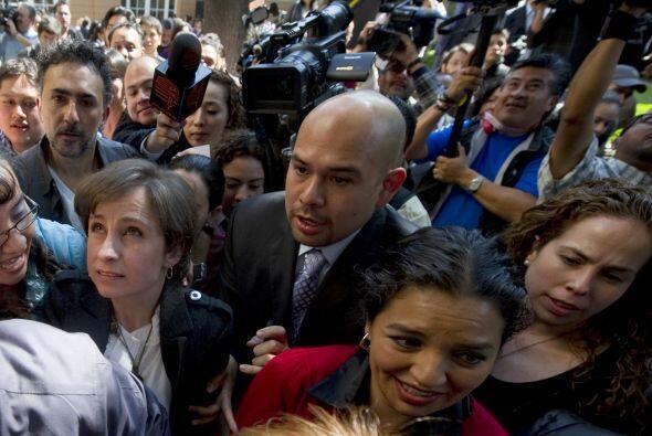 La expectativa por saber la versión de Aristegui provocó u...