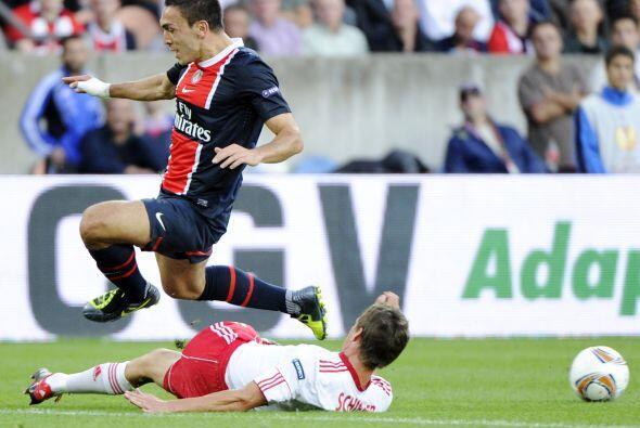 El revolucionado París Saint-Germain inició su andar ante el Salzburgo.