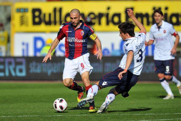 El Bolonia se vio las caras con el Cagliari.