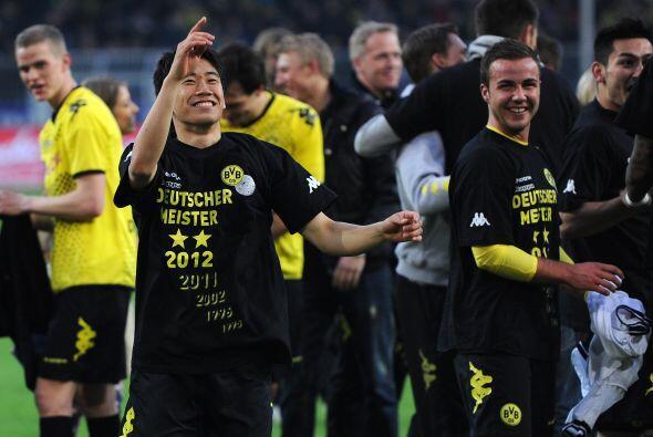El Dortmund ganó y aseguró el título de la Bundesli...