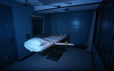 Cámara de la muerte en una prisión de Texas. (Imagen de Archivo).