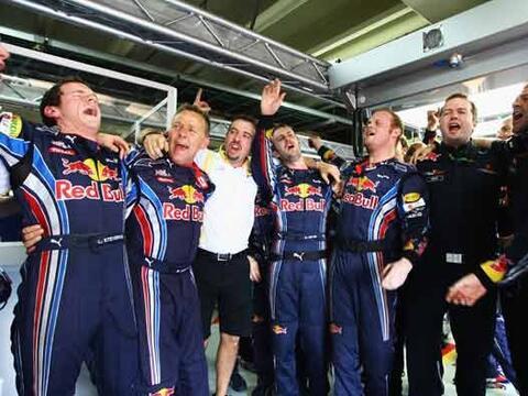 Por ahora, Red Bull puede celebrar su primer título de constructo...
