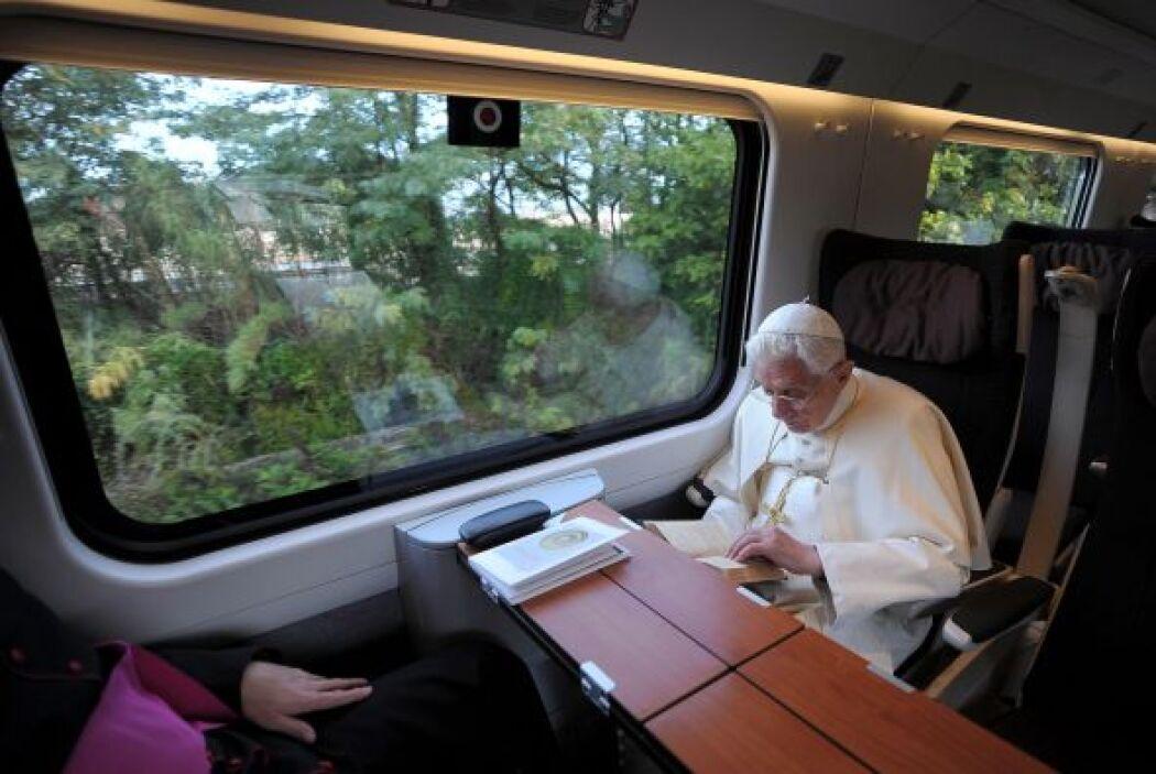 10. ¿Cómo se vestirá Benedicto XVI después del 28 de febrero? Todavía no...