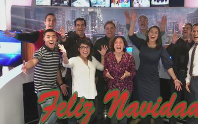 El equipo de Univision Chicago le desea una feliz Navidad