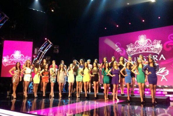 Las 12 finalistas están en este grupo.