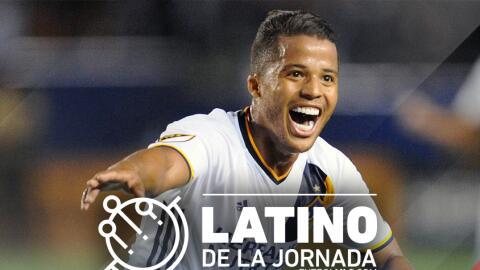 Giovani dos Santos vuelve a ser elegido Latino de la Jornada