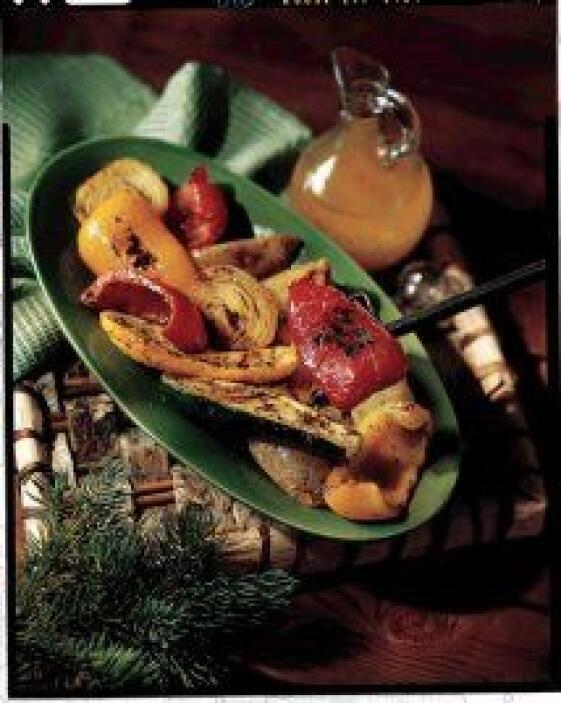 Verduras a las brasas con aderezo: Desde Miami el chef Erik Sierra te pr...