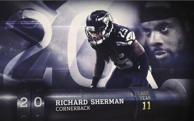 Top 100 Jugadores del 2016: (Lugar 20) CB Richard Sherman
