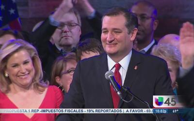 Cruz insta a los demás republicanos a unirse a él para vencer a Trump