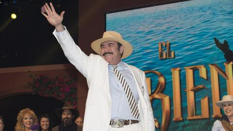 Jesús Ochoa es 'Odorico' en la telenovela 'El Bienamado'.