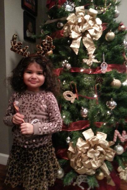 Mari García nos envió una foto de su pequeña Kairi...