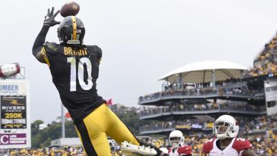 Martavis Bryant tuvo dos recepciones para touchdown en el duelo que los...
