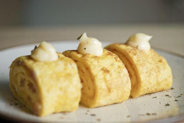 Omelette veloz: Fácil de preparar, esta receta es perfecta para el desay...