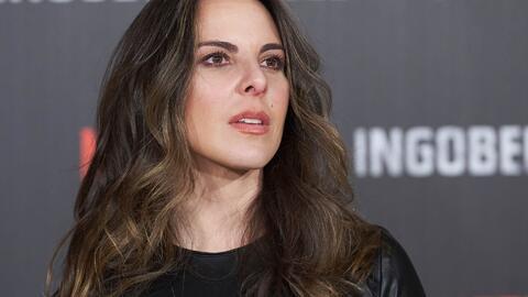 El enfado de Kate del Castillo ante las preguntas de una periodista sobr...