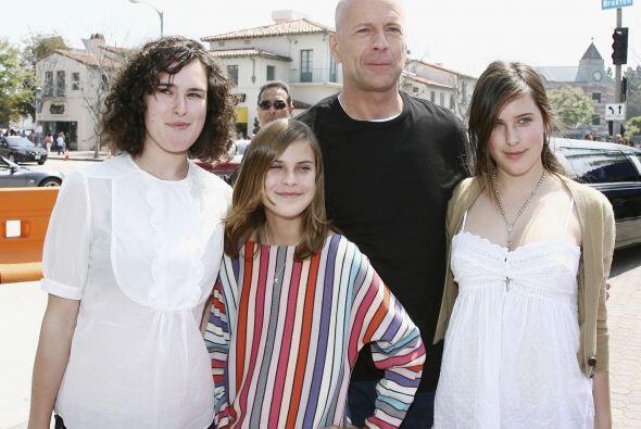 """Pero no es la única """"mal portada de la familia"""". La menor de las Willis..."""