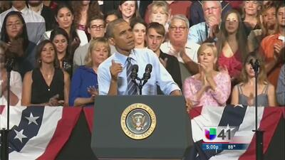 Obama: Necesitamos hacer crece a la clase media