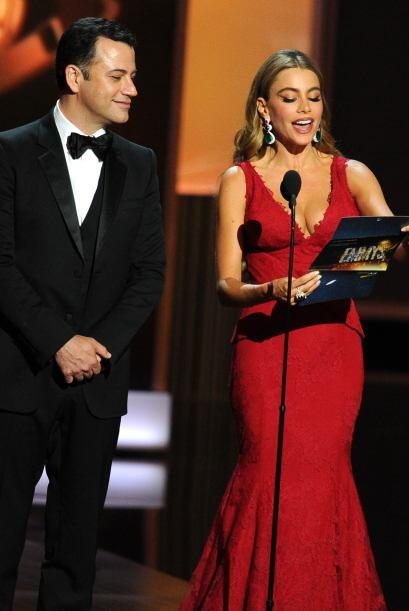 Sofía anunciando el ganador. Mira aquí lo último en chismes.