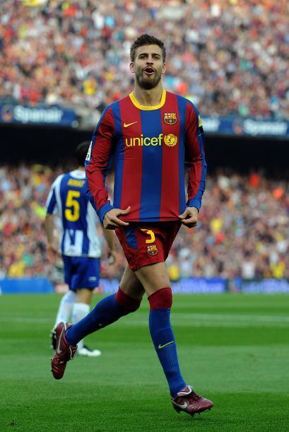 El central del Barcelona aprovechó una mala marcación por...