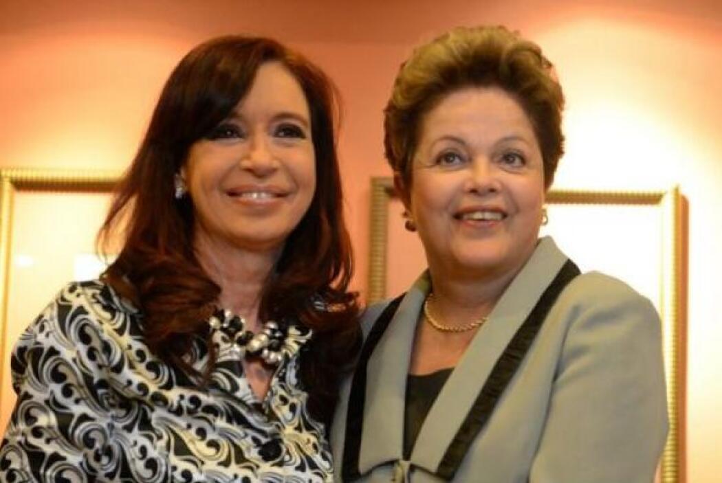 Por la tarde, reunión con Dilma, Presidenta de Brasil, recién arribada d...