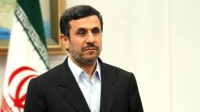 El presidente iraní, Mahmud Ahmadineyad.