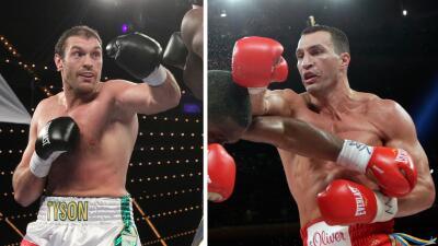 Fury contra Klitschko en octubre.