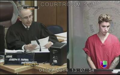 Justin Bieber se declaró culpable en Miami pero no pisará la cárcel