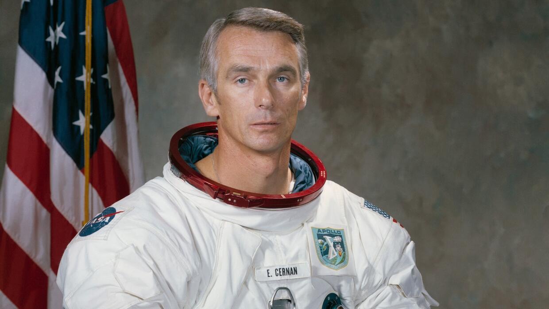 Gene Cernan, el último hombre que pisó la Luna, muere a los 82 años de edad
