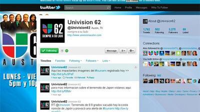 (Foto tomada de la cuenta de Twitter de Univision 62)