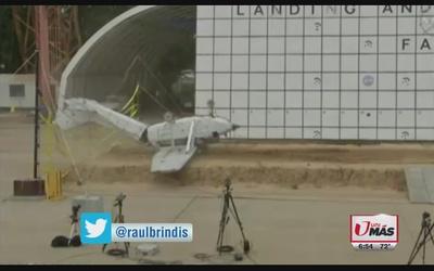 NASA estrena un avión para hacer pruebas