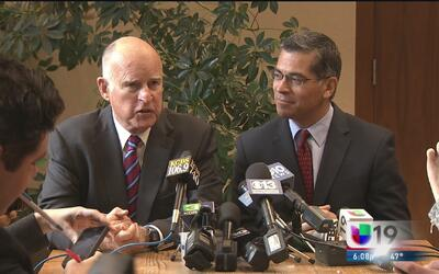 Jerry Brown anuncia al nuevo fiscal estatal