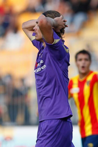 Con un gol de Michele en el minuto 9, el Lecce ganó 1-0 a la Fior...