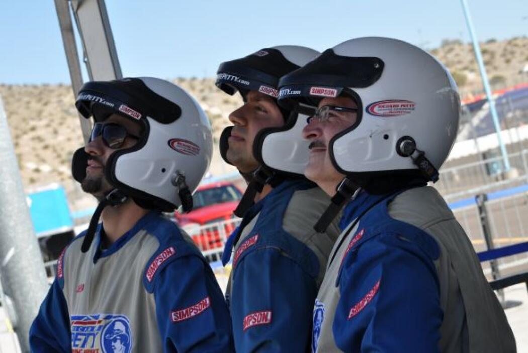 Univision Arizona dio una probadita de lo que vivirán los pilotos de Nas...