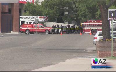 Evacuan edificio tras el derrame de sustancias químicas