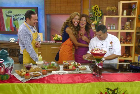 En esta gran celebración no podía faltar la boliviana más querida en Des...