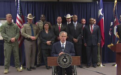 El gobernador Greg Abbott presenta nuevo plan contra pandillas en Houston