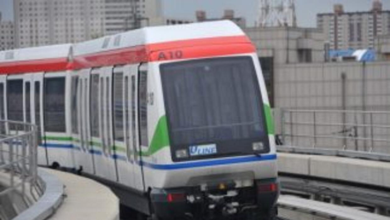 El tren que iría desde Asunción a Ypacaraí (trayecto de 40 kilómetros) s...