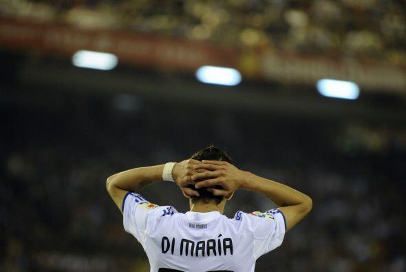 El argentino Angel Di María tuvo una actuación muy por debajo de lo que...