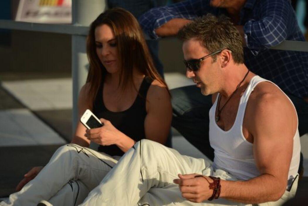 Kate del Castillo y Carlos Ponce demuestran que son amigos fuera de la p...