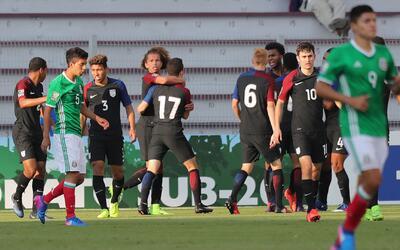 Estados Unidos sorprendió a México 1-0 en el Premundial Sub 20
