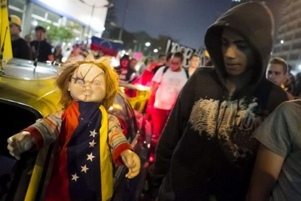 La concentración inició a las 5 de la tarde en la plaza La Castellana, m...