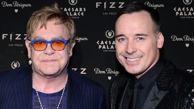 Elton John volverá a casarse con David Furnish