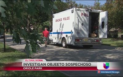 Investigan objeto sospechoso en Oriole Park